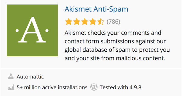 WordPress Security: How to Protect against Spammers with Akismet