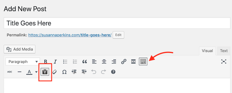 If you're pasting in content, turn on the Paste as text button