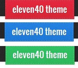 Eleven40 theme colors