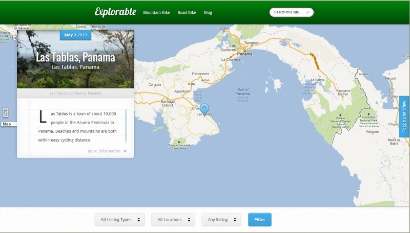 8 sites that should use the wordpress explorable theme review explorable theme sciox Images