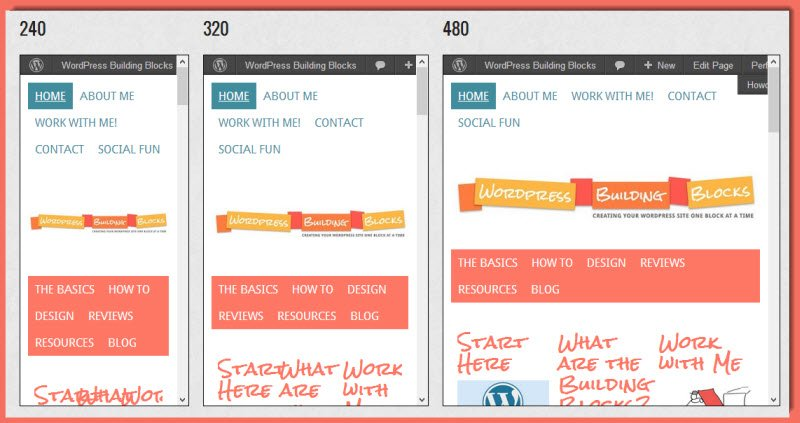 test site for the Genesis Mobile Responsive Header plugin