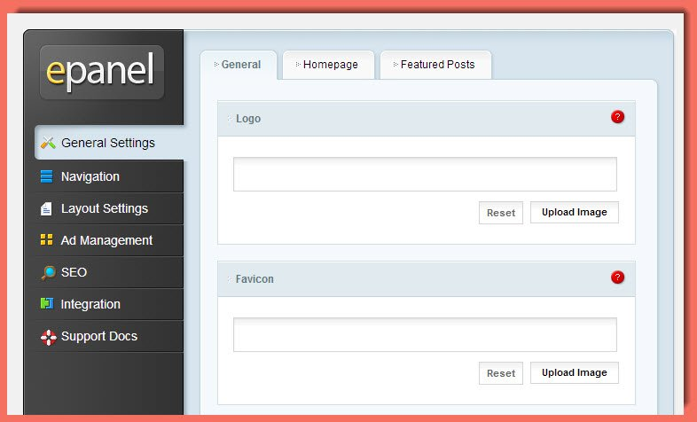 picture of Elegant Themes ePanel