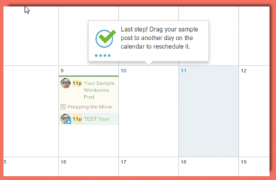 image of CoSchedule installation