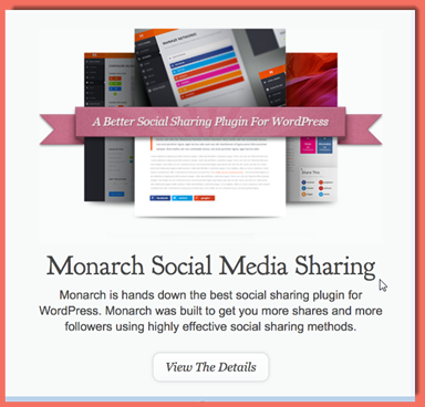 image of Monarch Social Media plugin