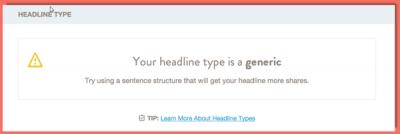 image of headline type