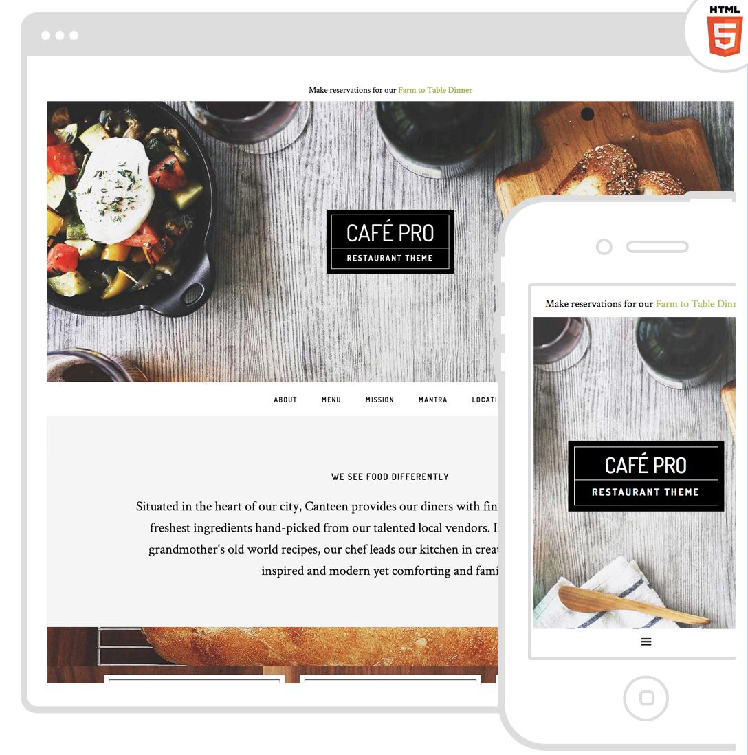 Cafe Pro - WordPress Building Blocks