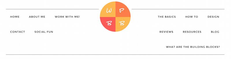 image of unbalanced menu