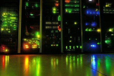 image of server room for WordPress hosting