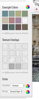 Elegant Themes custom colors and fonts