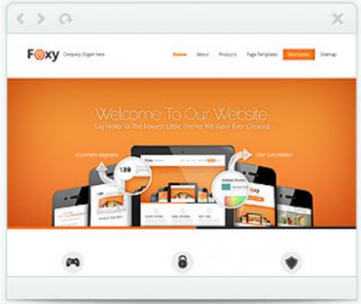 Foxy e-commerce theme