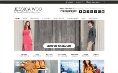 Jessica Woo e-commerce theme
