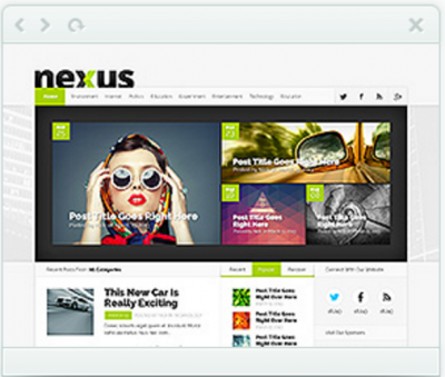 Nexus magazine theme