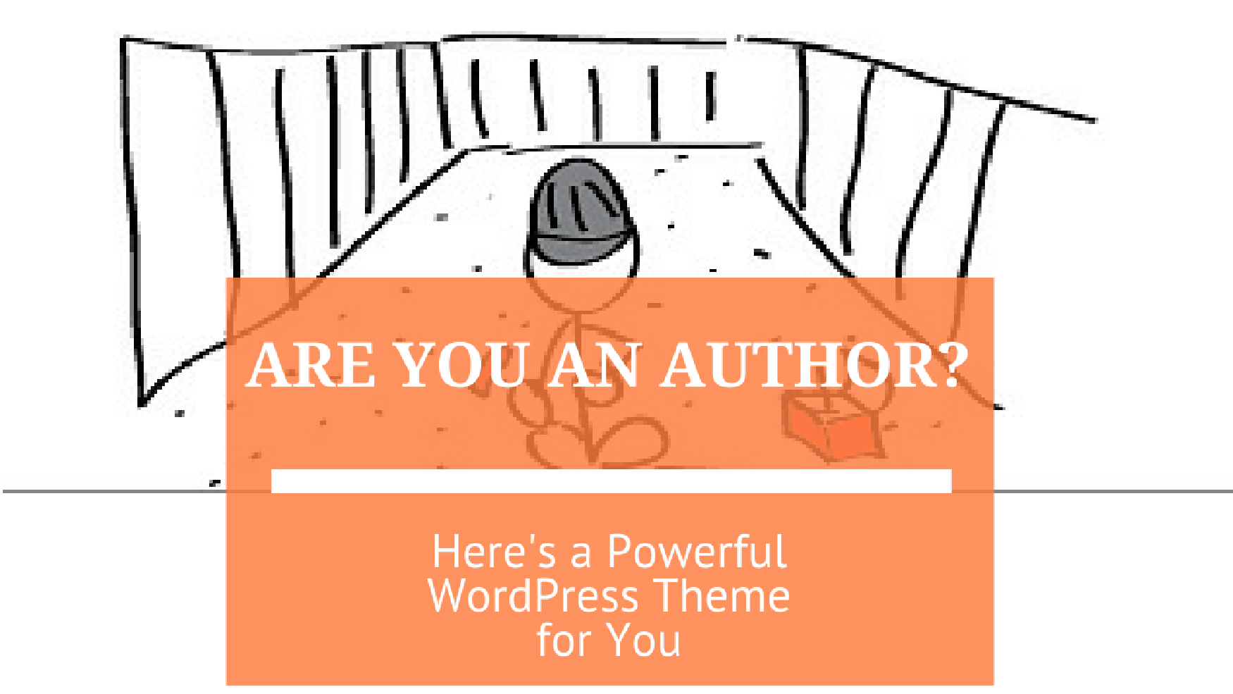 Are You an Author? Here's a Powerful WordPress Theme for You