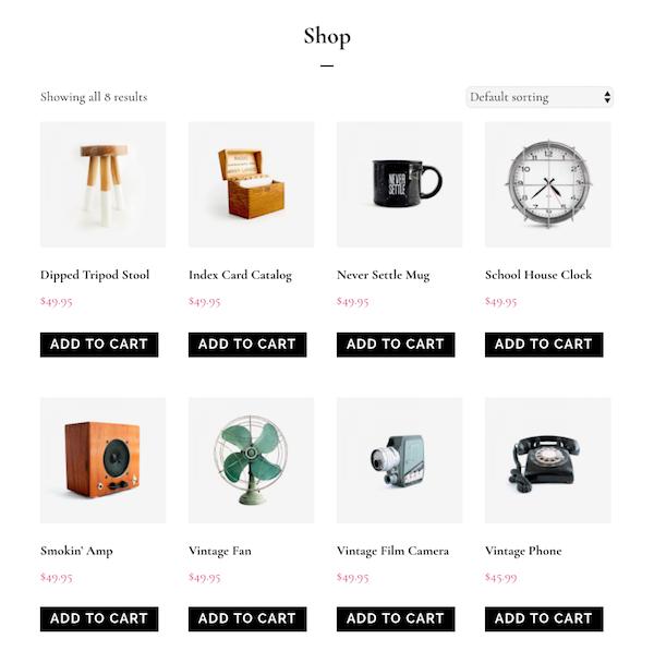 Infinity Pro WooCommerce Shop