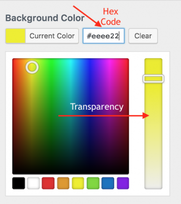 color customizer