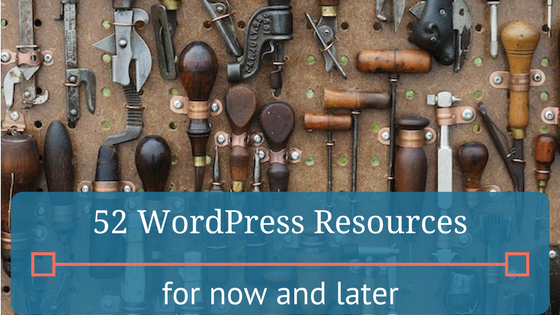 52 of the best WordPress resources