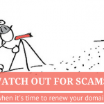 Beware of Domain Name Registration Scams