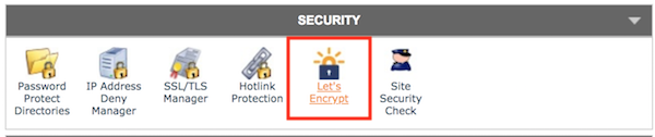 manually update your security certificate on Siteground