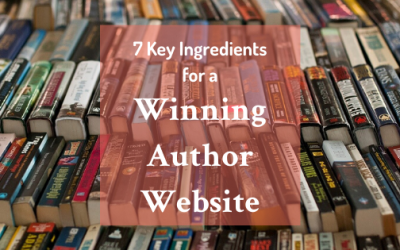 What Do You Need In a Winning Author Website?