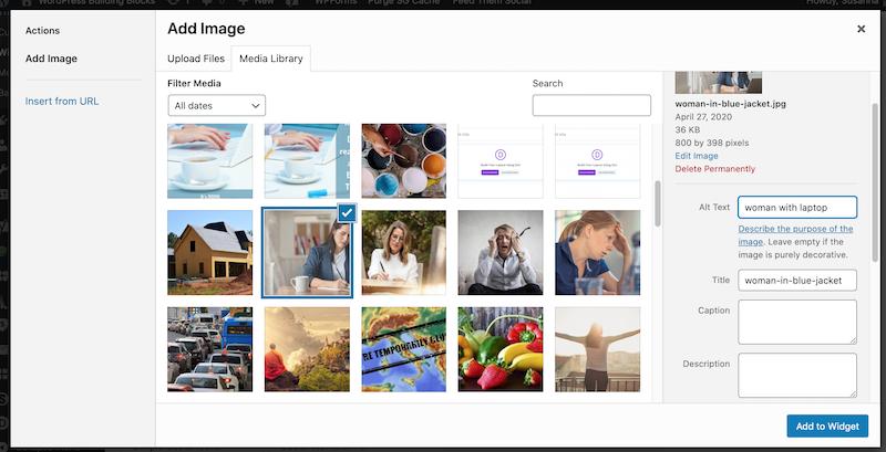 adding an image to a widget