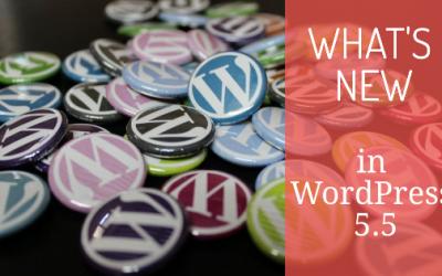 What's New in WordPress 5.5